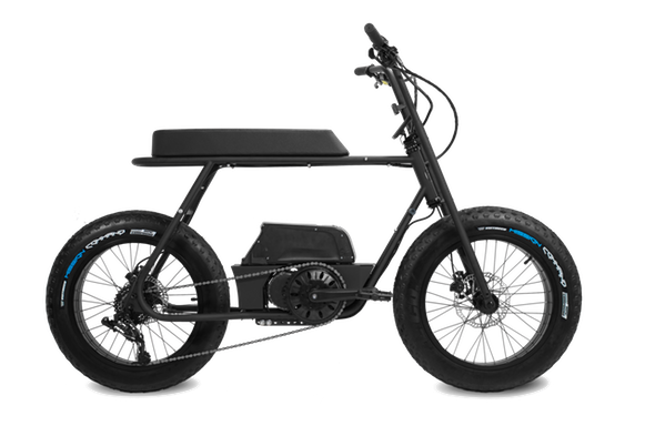 Coast Cycles Buzzraw Stealth E1000 Electric Bike Side