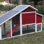 Alecko Wooden Chicken Coop 4