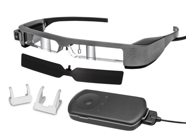 Epson Moverio BT-300FPV Smart Glasses For DJI Kit