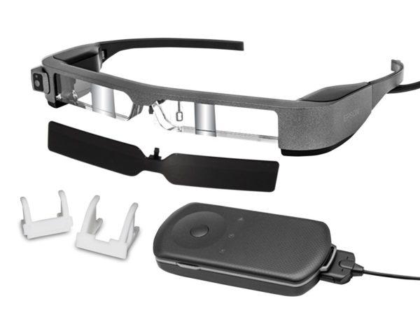 Epson Moverio BT-300FPV Smart Glasses For DJI Kit