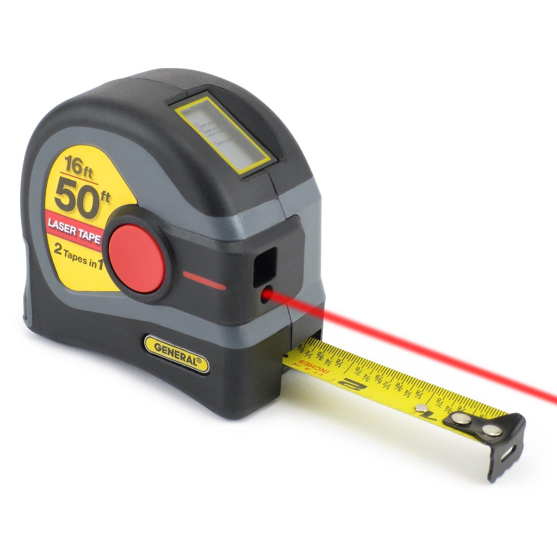 General Tools LTM1 2-in-1 Laser Tape Measure 2