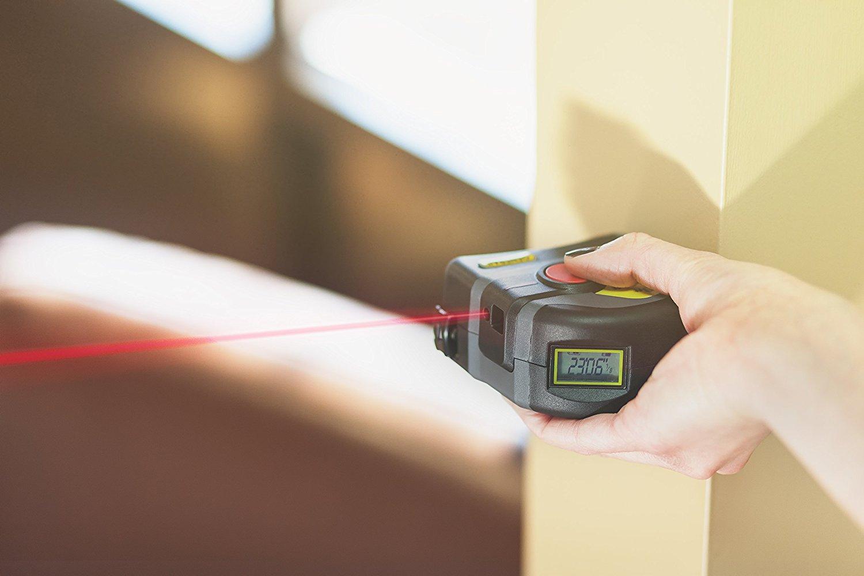 General Tools LTM1 2-in-1 Laser Tape Measure 6