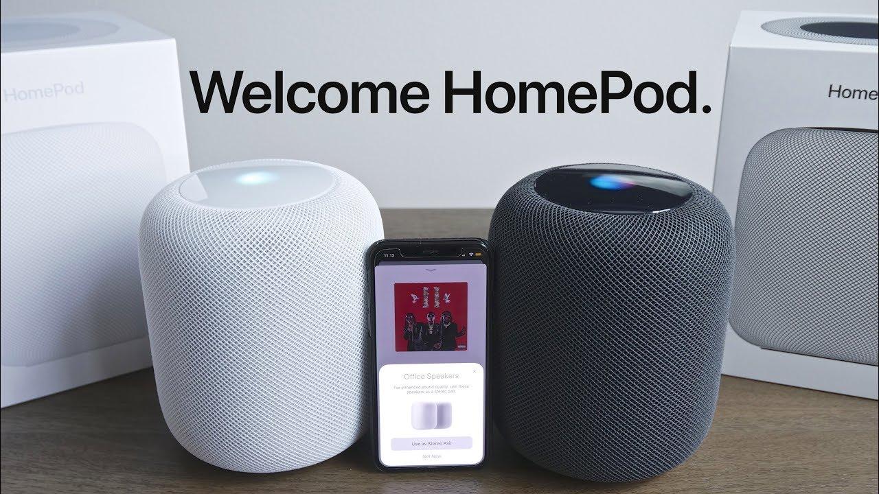 HomePod Stereo Pairing
