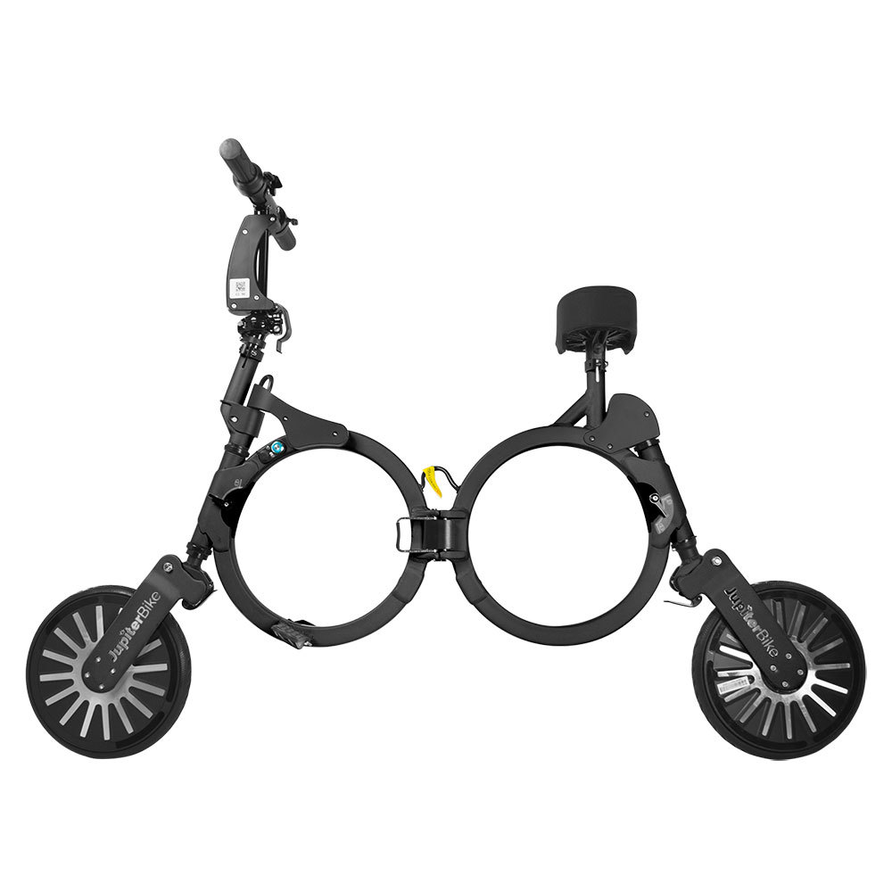 Jupiter Bike Electric Folding Bike Black