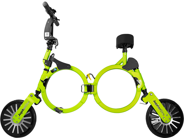 Jupiter Bike Electric Folding Bike Green