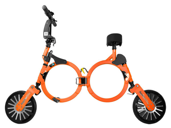 Jupiter Bike Electric Folding Bike Orange