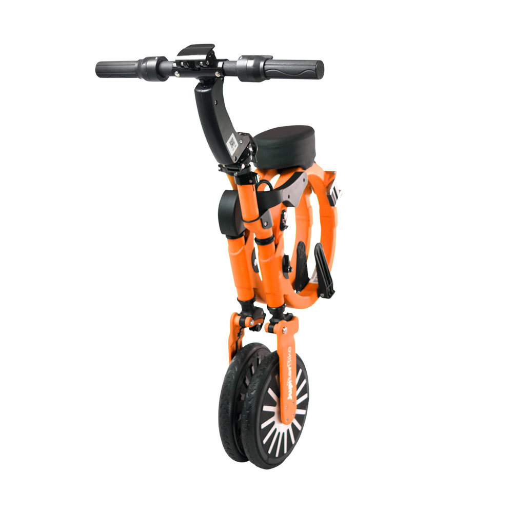 Jupiter Bike Electric Folding Bike Orange Folding