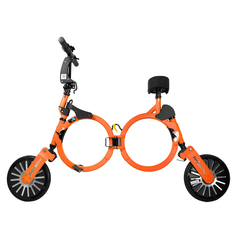 Jupiter Bike Electric Folding Orange