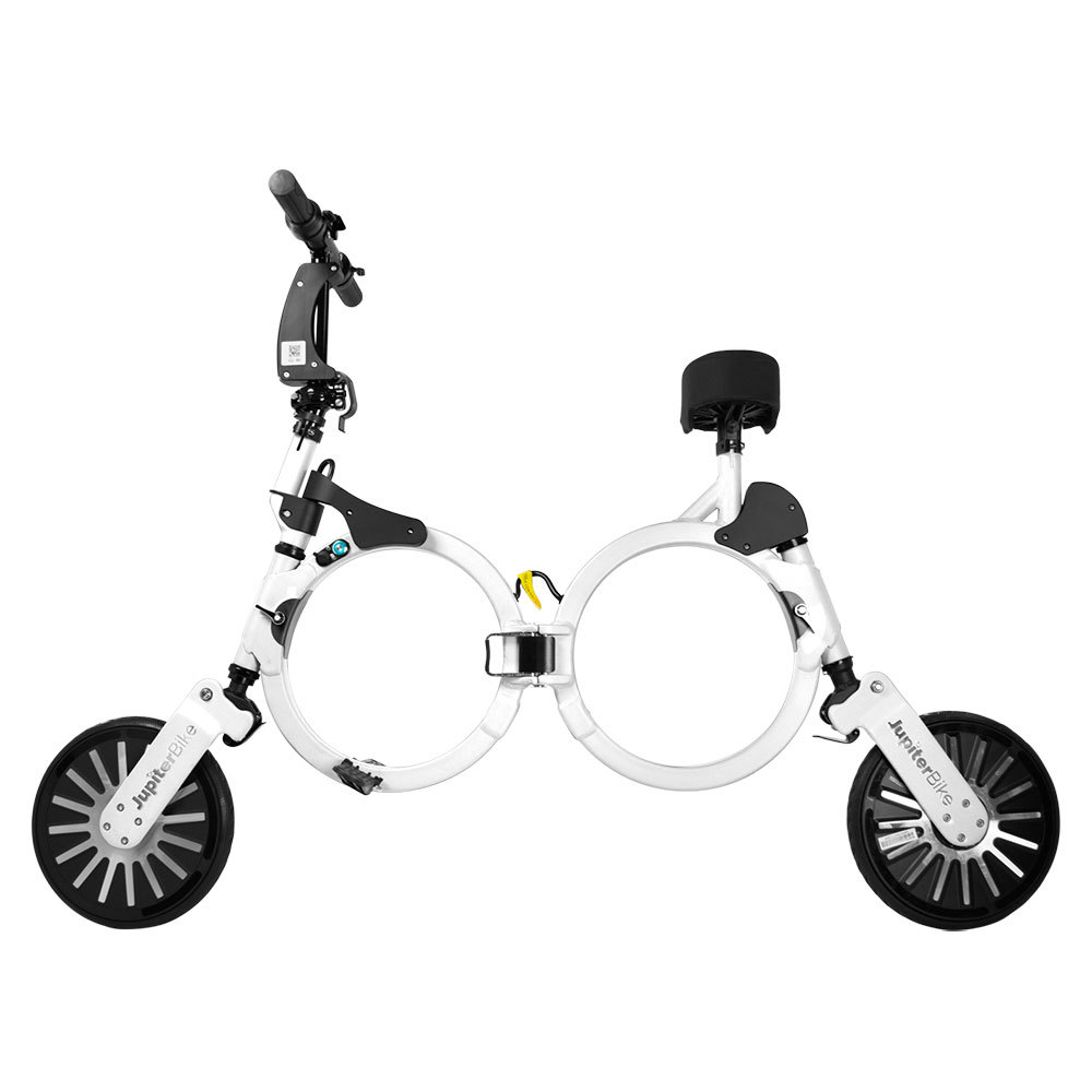 Jupiter Bike Electric Folding Bike White