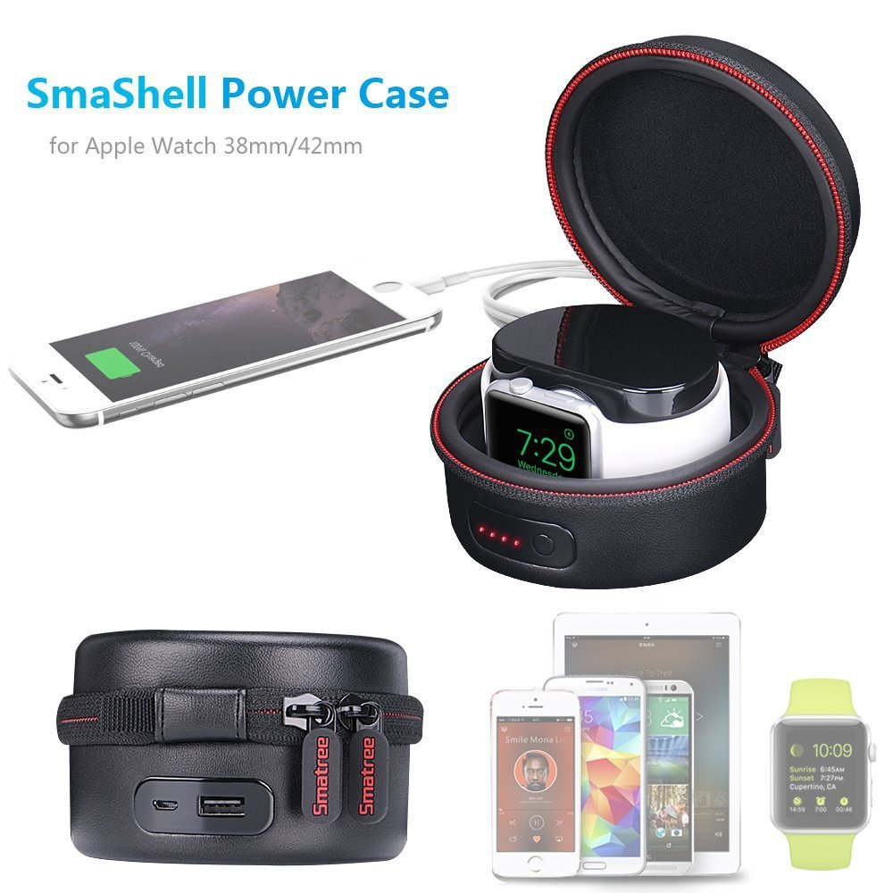 Smatree Charging Case For Apple Watch 1