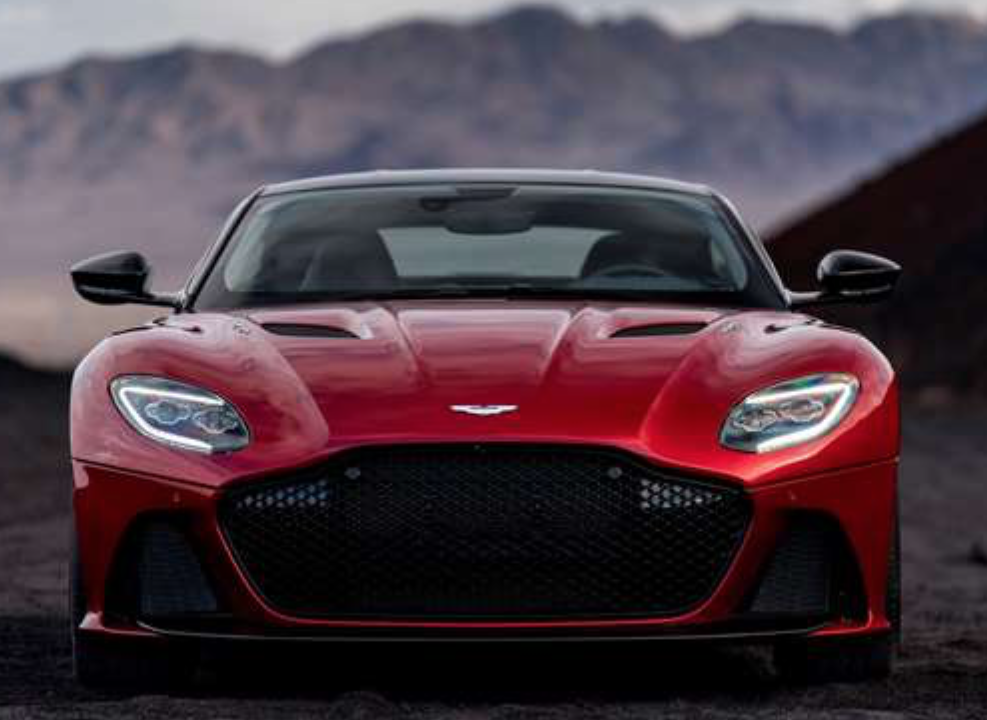 Aston Martin DBS Superleggera Front View