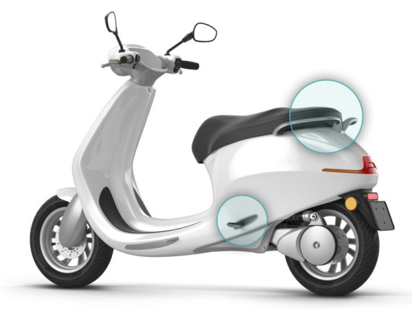 Bolt Mobility AppScooter Side