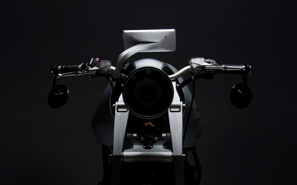 Ethec Electric Motorcycle Front