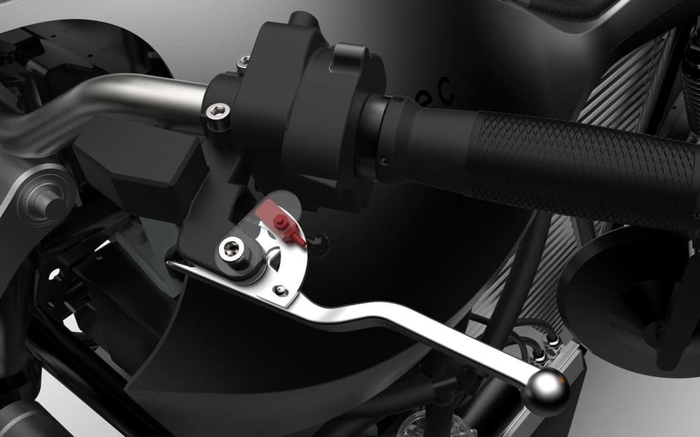 Ethec Electric Motorcycle Handlebar