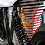 Ethec Electric Motorcycle Rear