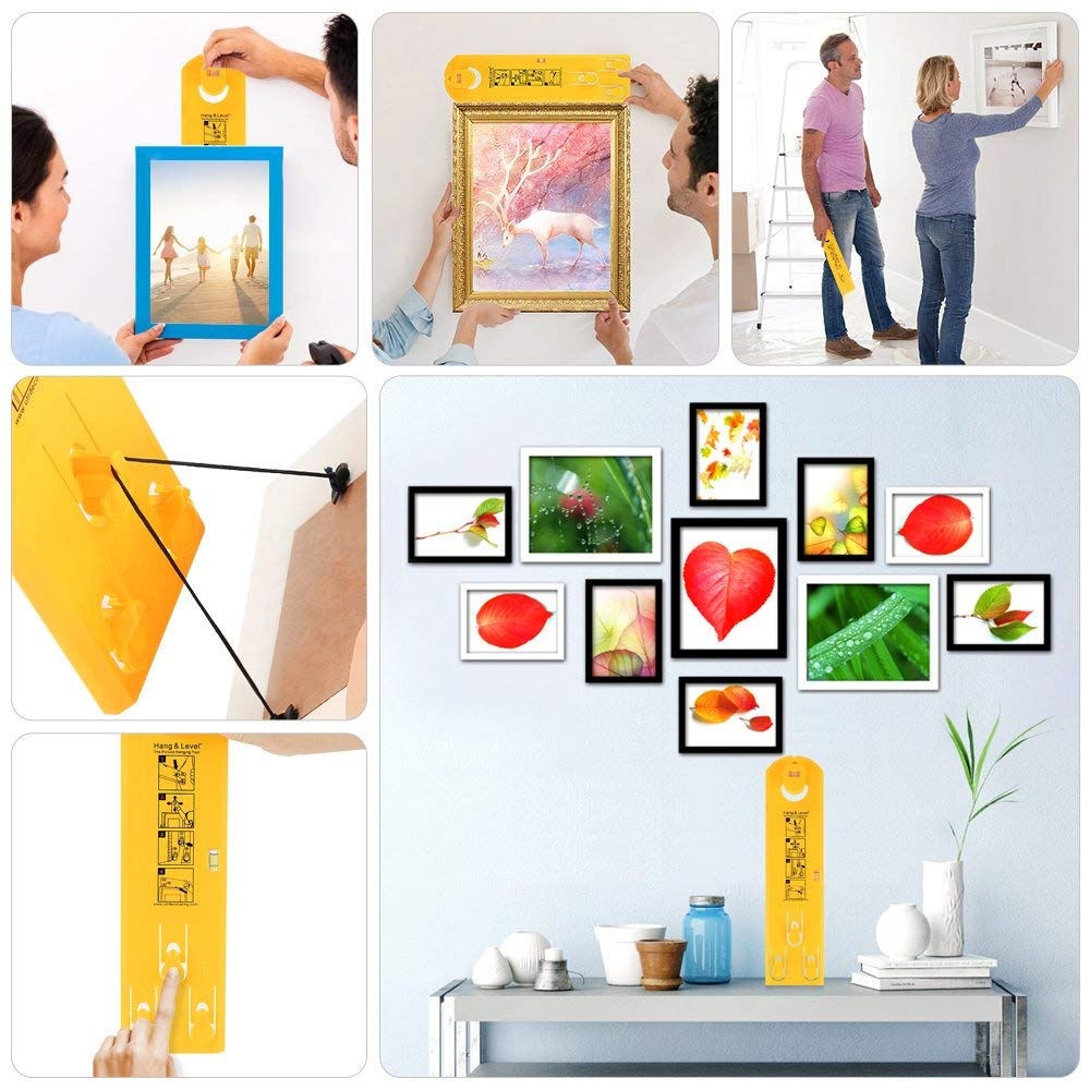 Easy Hanger Picture Frame Hanging Tool Sample
