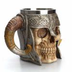 Medieval Skull With Horns Mug 6
