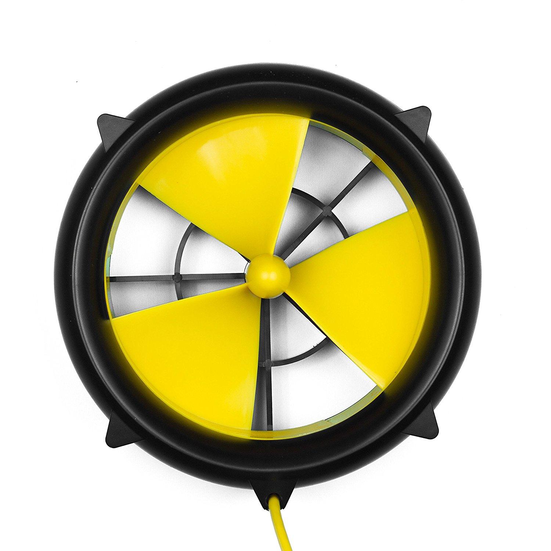 Waterlily Turbine Charger Water Wind USB Turbine 1