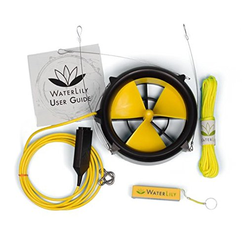 Waterlily Turbine Charger Water Wind USB Turbine 3
