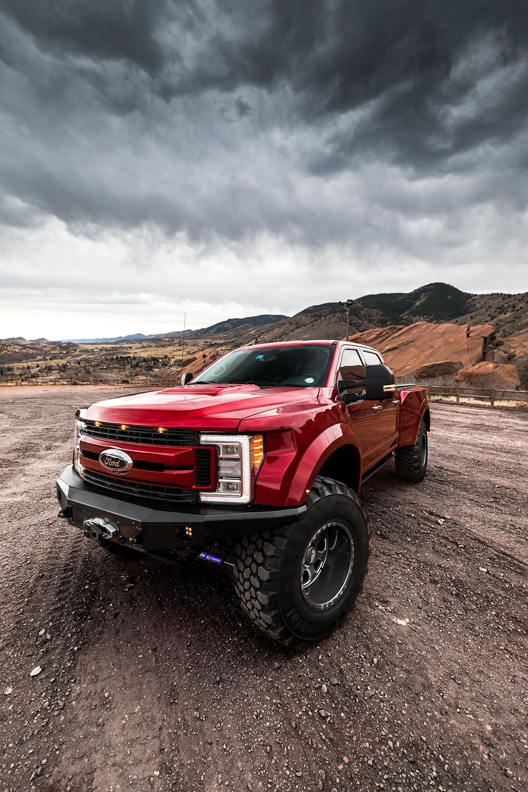 DEFCO BA350 Super Giant Ford Raptor Front