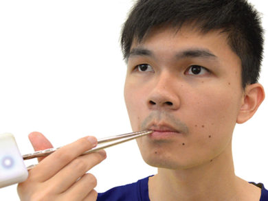 Food Hacking Chopsticks Fake Salt Taste