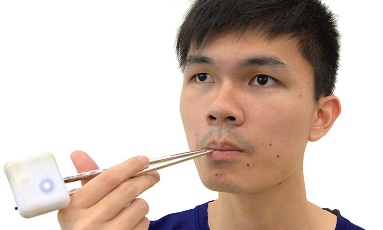 Food Hacking Chopsticks Fake Salt Taste