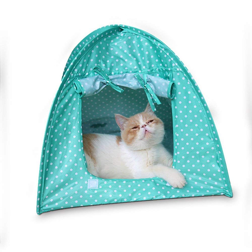 Green Cat Camp Tent