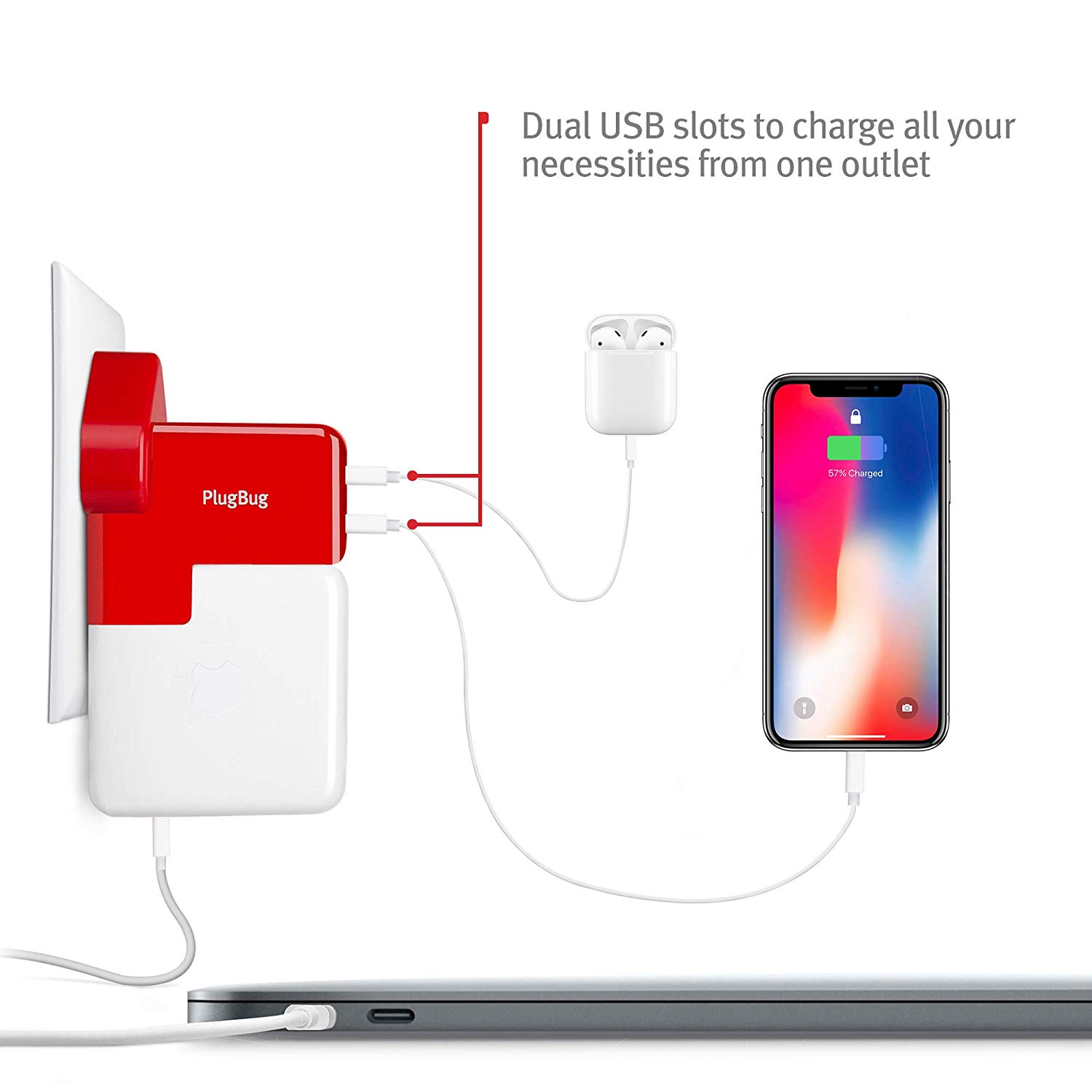 Twelve South PlugBug Duo USB Charging
