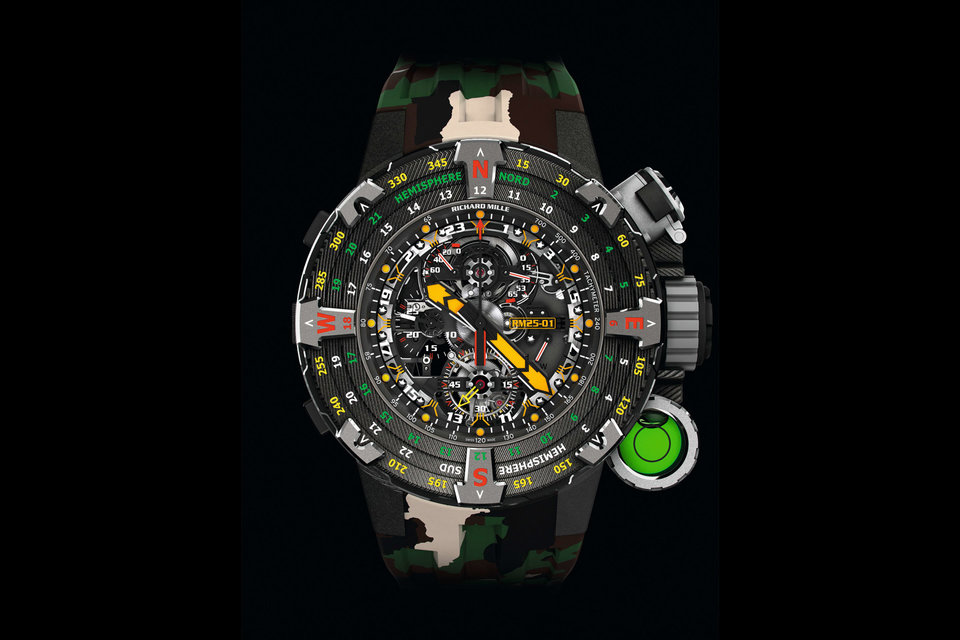 Richard Mille 25 01 Tourbillon Adventure Watch