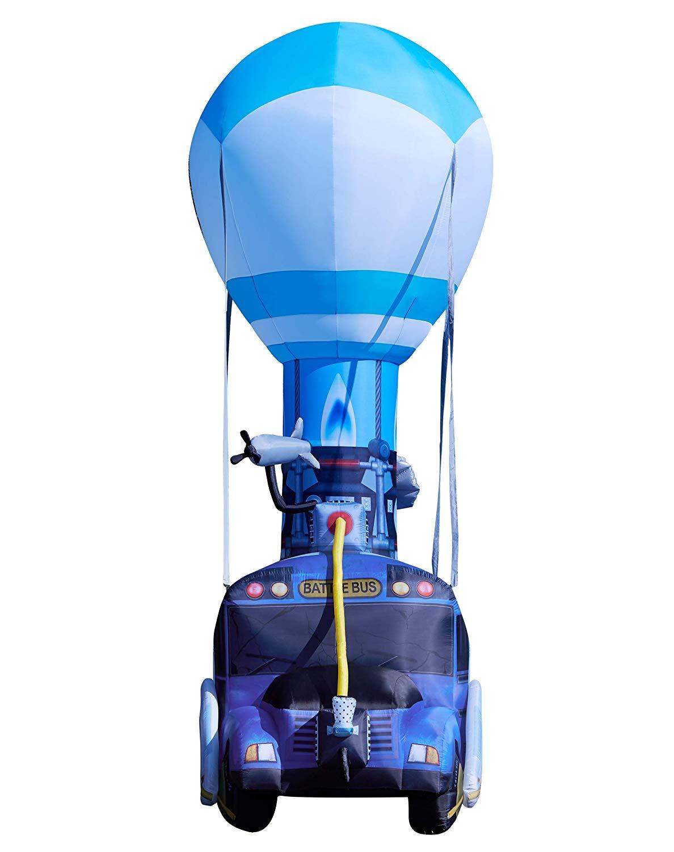 Giant Inflatable Fortnite Battle Bus 3