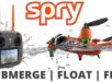 Spry Waterproof Drone and Remote Control