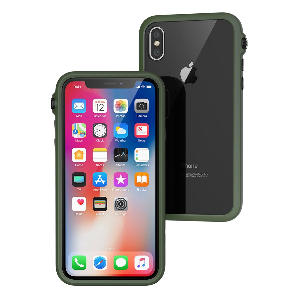 Catalyst Impact Protection Case iPhone X XS XS Max XR Review Army Green