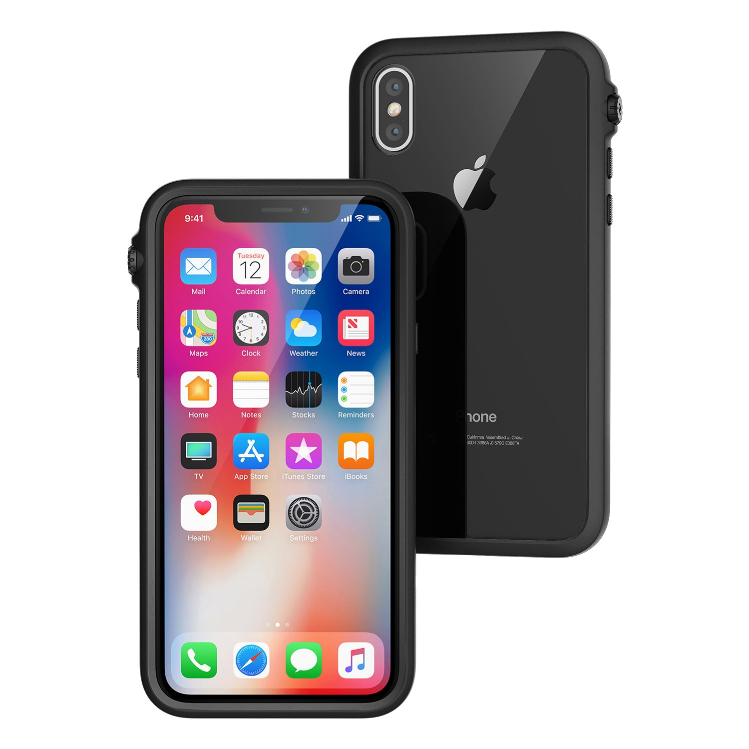 Catalyst Impact Protection Case iPhone X XS XS Max XR Review Black