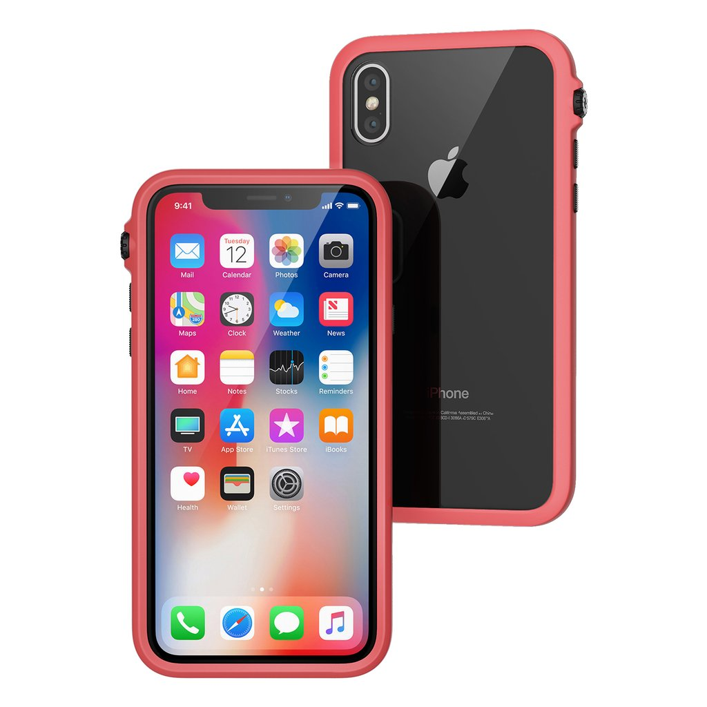 Catalyst Impact Protection Case iPhone X XS XS Max XR Review Coral