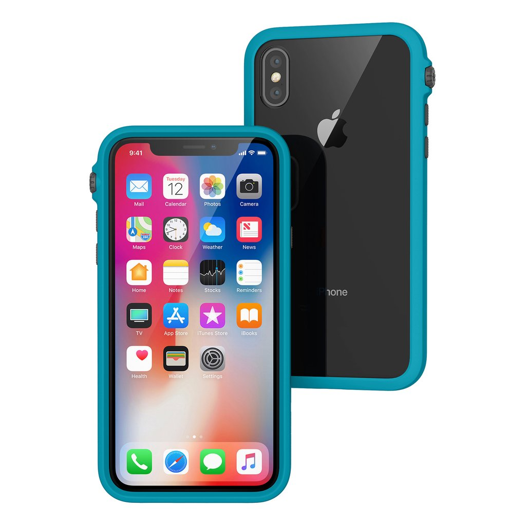 Catalyst Impact Protection Case iPhone X XS XS Max XR Review Glacier Blue