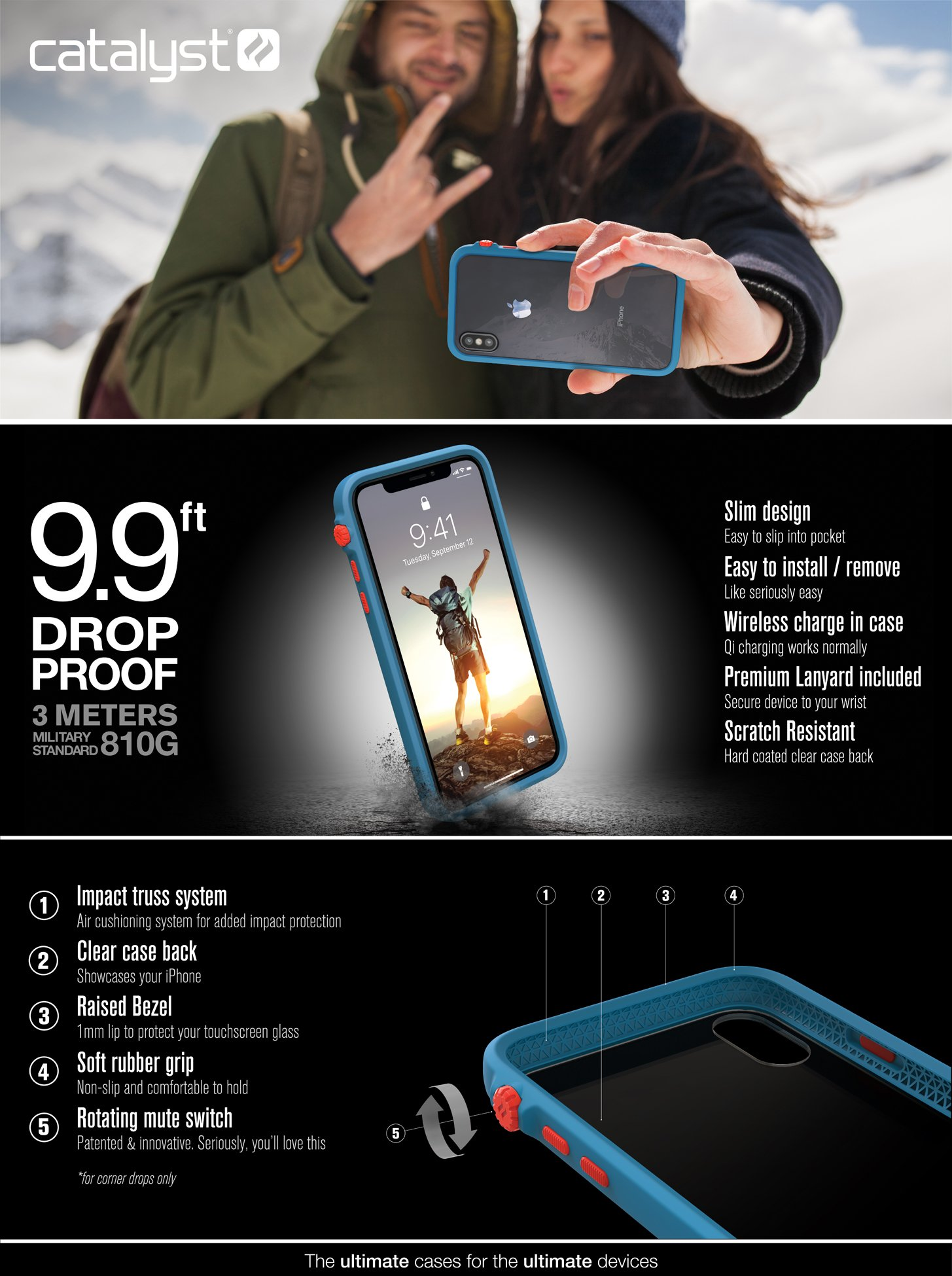 Catalyst Impact Protection Case iPhone X XS XS Max XR Review Marketing