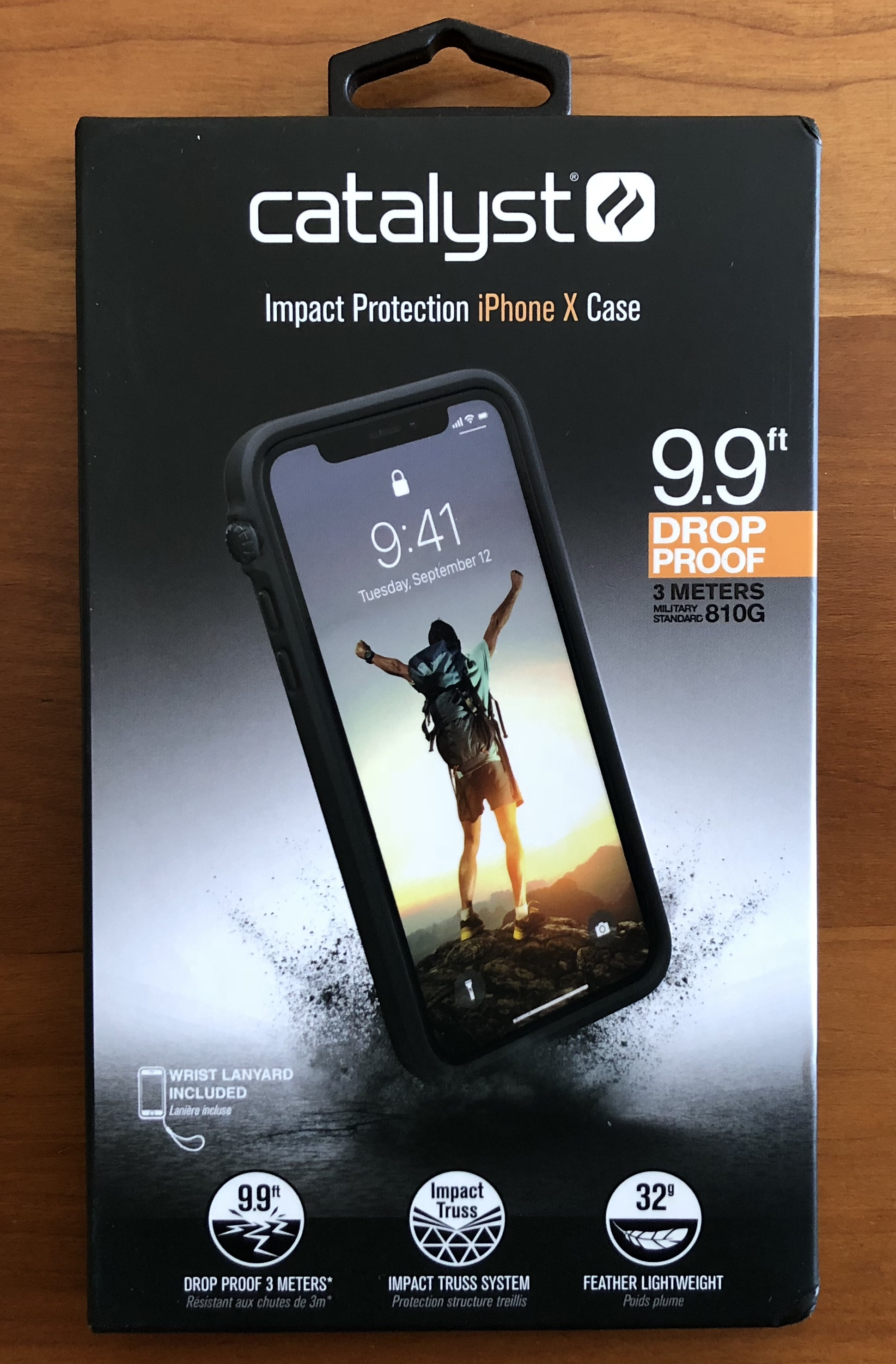 Catalyst Impact Protection Case iPhone X XS XS Max XR Review Retail Box