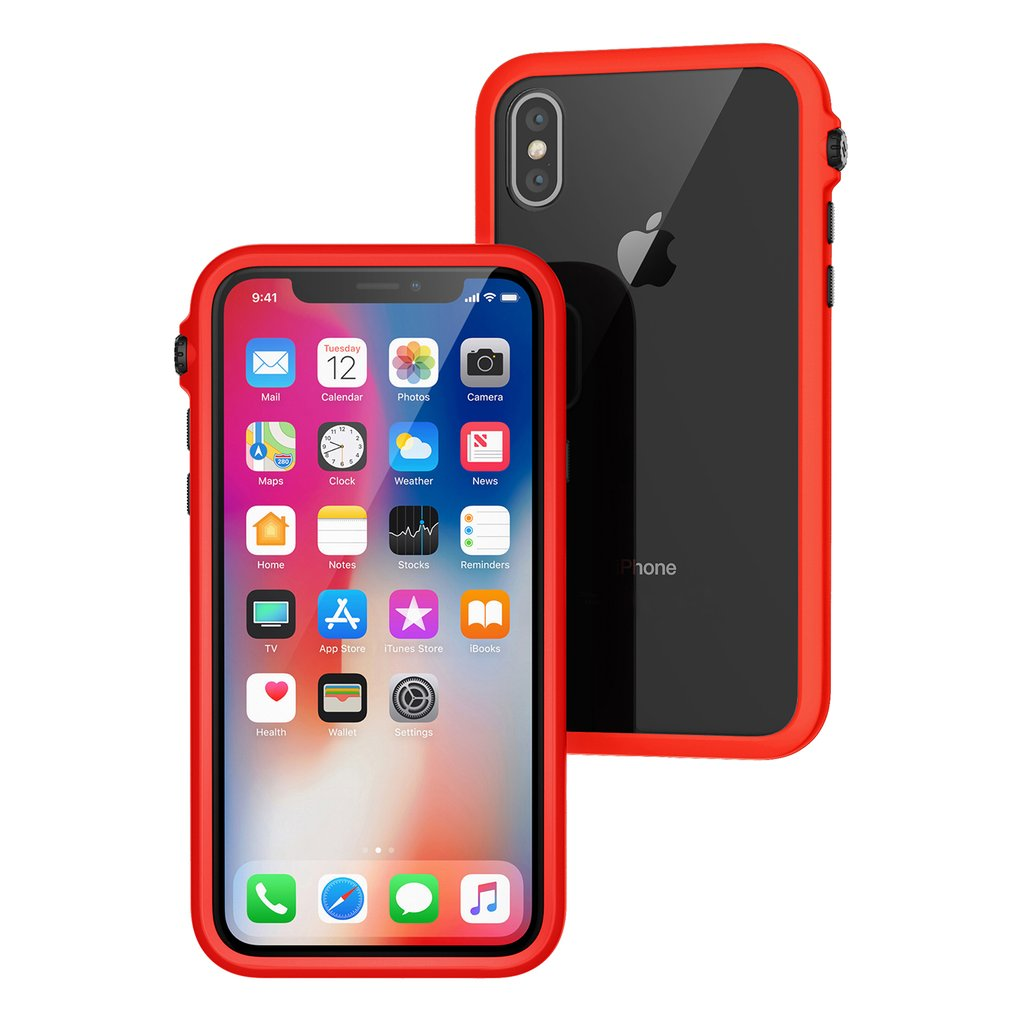 Catalyst Impact Protection Case iPhone X XS XS Max XR Review Sunset