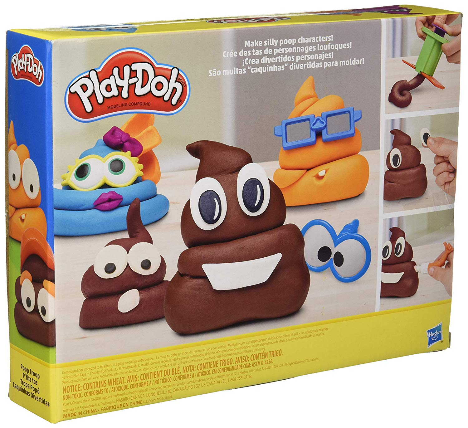 Play-Doh Poop Troop Set Box