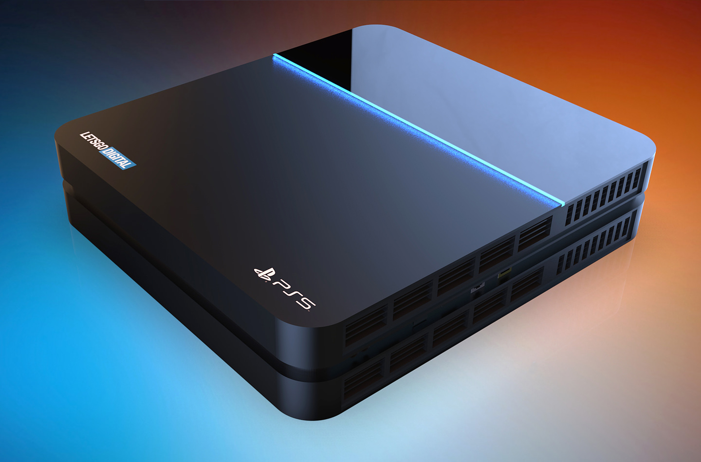 Sony PS5 Rendering