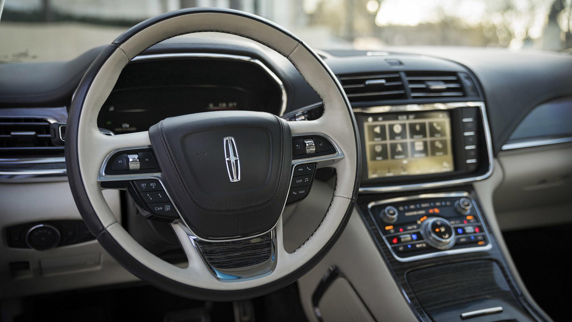 2019 Lincoln Continental Coach Door Edition Interior