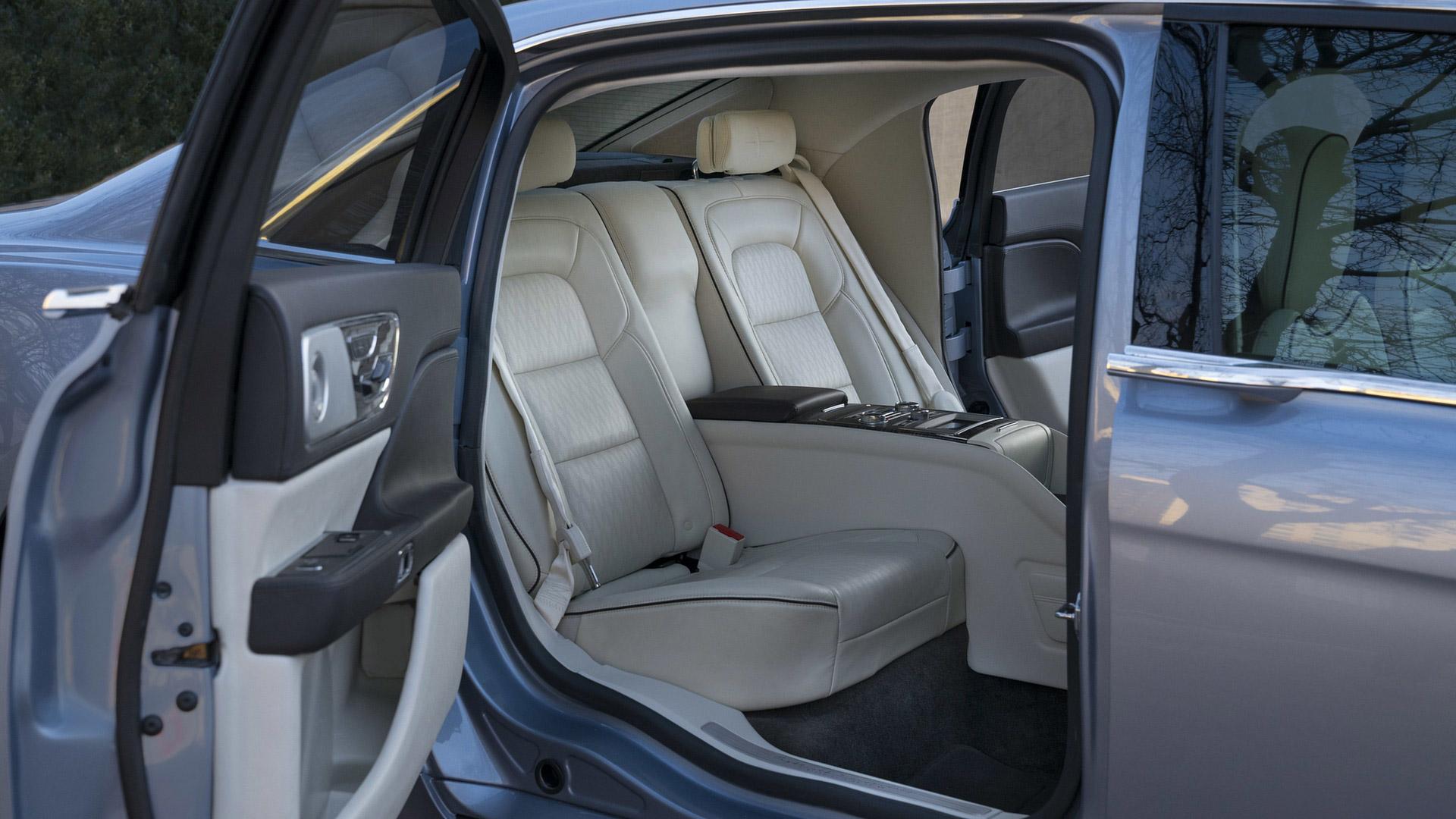 2019 Lincoln Continental Coach Door Edition Rear Seats