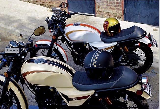 CSC SG250 San Gabriel Motorcycle Creme