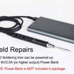 TS80 USBC Portable Soldering Iron Battery Powered