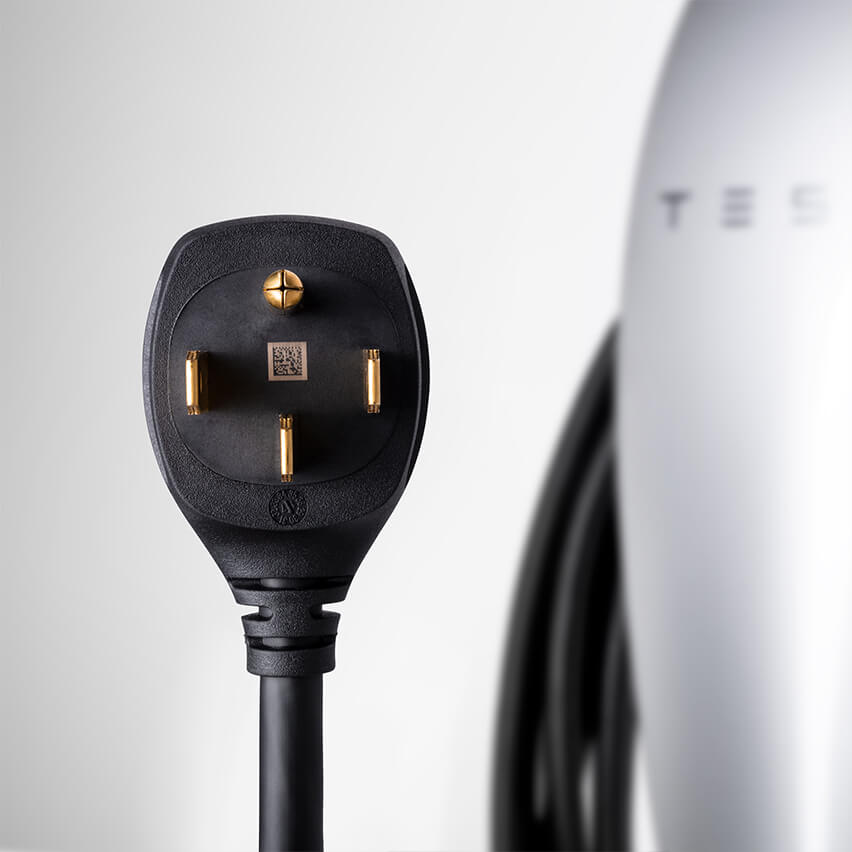 Tesla Wall Connector with 14-50 Plug NEMA