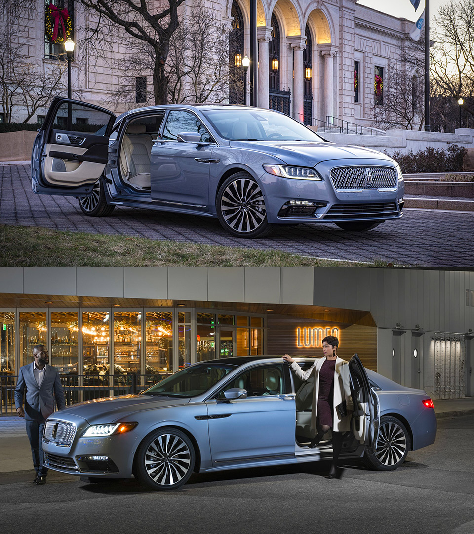 Limited Lincoln Continental 80th Anniversary Edition With