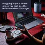 Nomodo Wireless Qi Charger with Drink warmer cooler 4