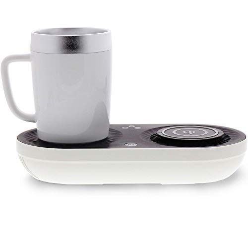 Nomodo Wireless Qi Charger with Drink warmer cooler 6