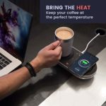 Nomodo Wireless Qi Charger with Drink warmer cooler 7