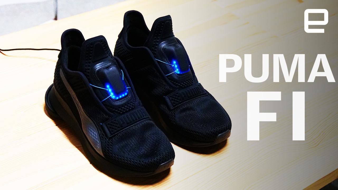 Puma Fi Self Tying Shoes Glow